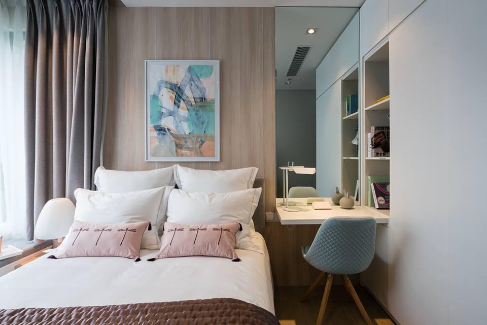 Phòng ngủ căn hộ 78m2 Kingdom 101 - Ảnh 1