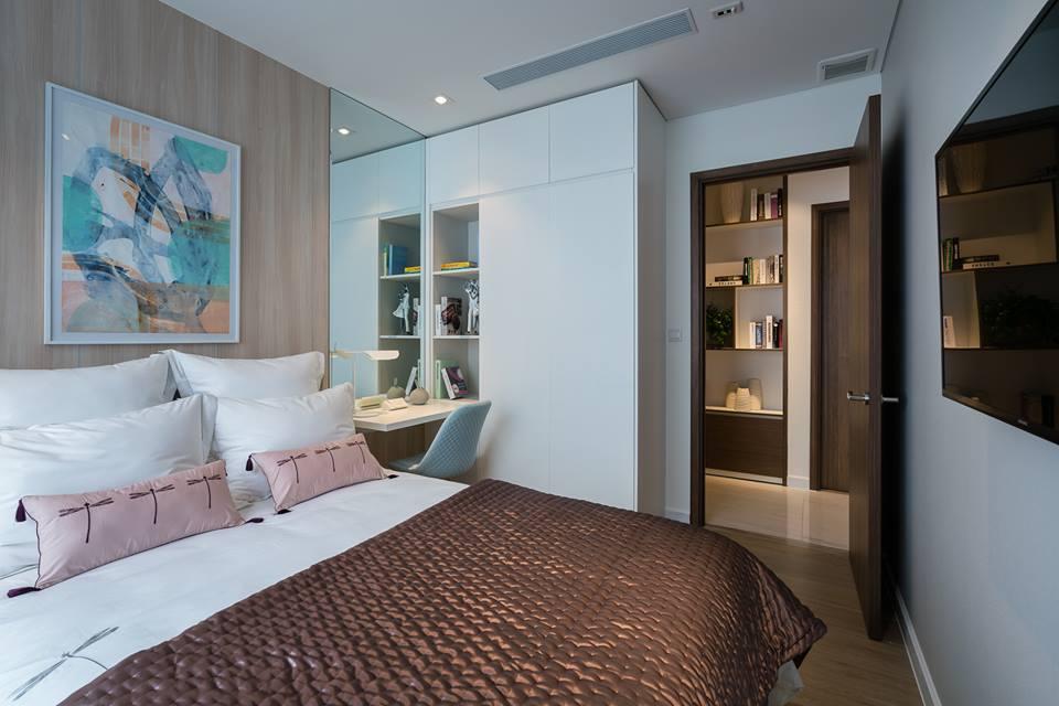Phòng ngủ căn hộ 78m2 Kingdom 101 - Ảnh 3