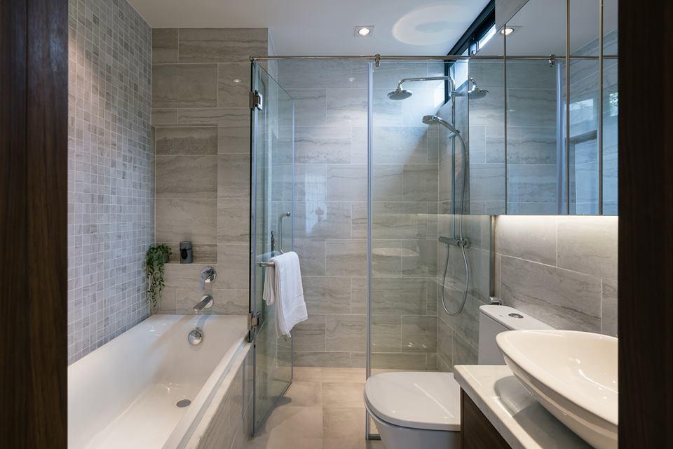 Nội thất ngoại nhập được sử dụng cho khu vực WC thêm sang trọng Kingdom101
