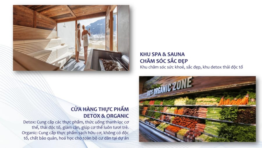 Tiện ích phục vụ sức khỏe dân cư Green Star Sky Garden - Cityapartment.com.vn