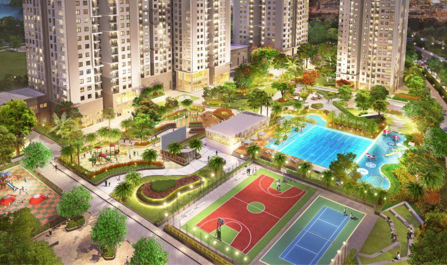 Tiện ích công viên trẻ em dự án căn hộ Sài Gòn South Residences Quận 7