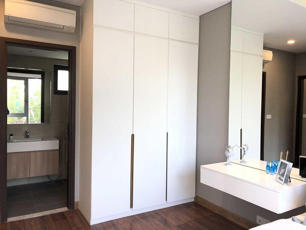 Phòng ngủ căn hộ One Verandah 81m2 - Ảnh chụp từ Iphone X