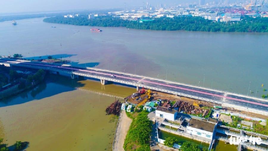 Cầu Thời Đại kết nối khu vực Thạnh Mỹ Lợi ra đường Mai Chí Thọ