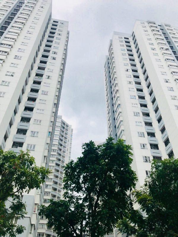 Chung cư cao tầng được ưu tiên làm ở 6 quận nội thành.