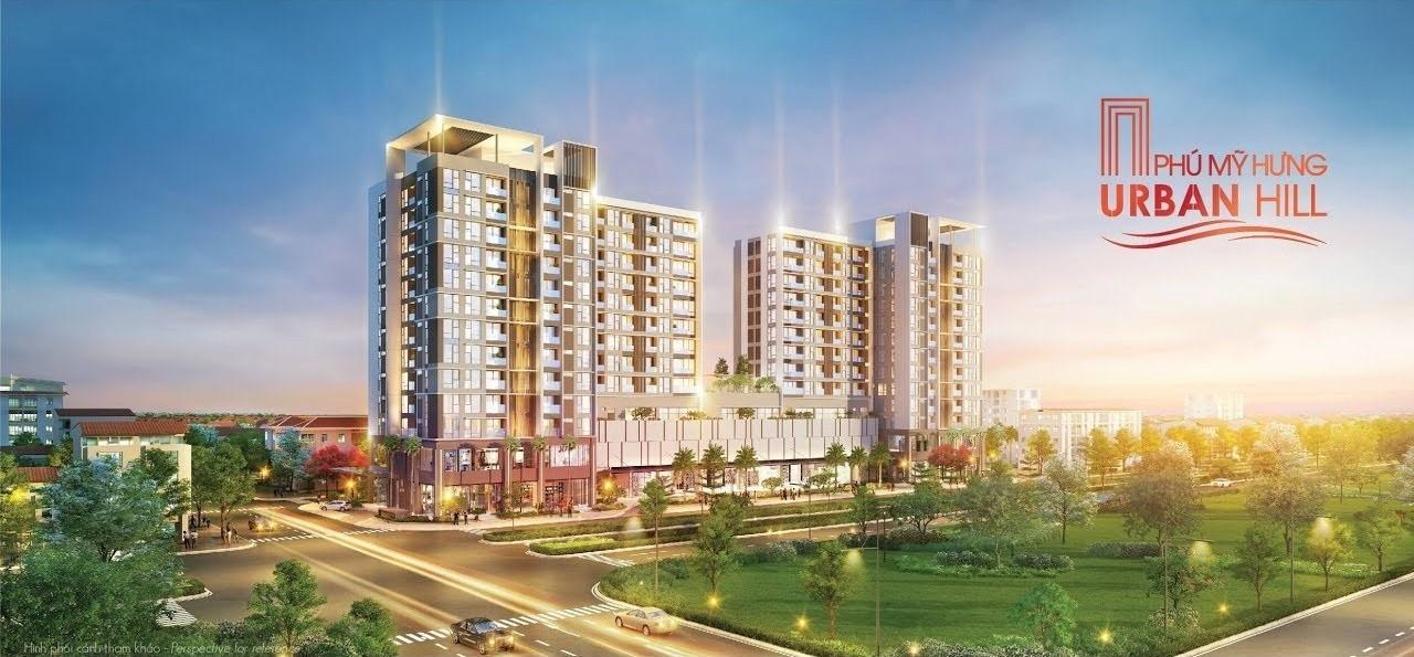 Urban Hill là dòng căn hộ kết hợp khối thương mại đầu tiên do Phú Mỹ Hưng phát triển.