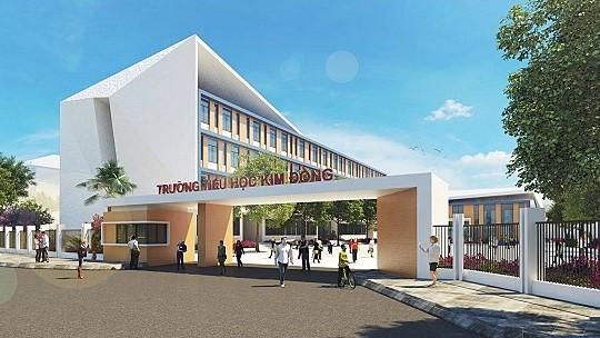 Trường Tiểu học Kim Đồng nằm trong dự án căn hộ Eco Green quận 7 - Cityapartment.com.vn