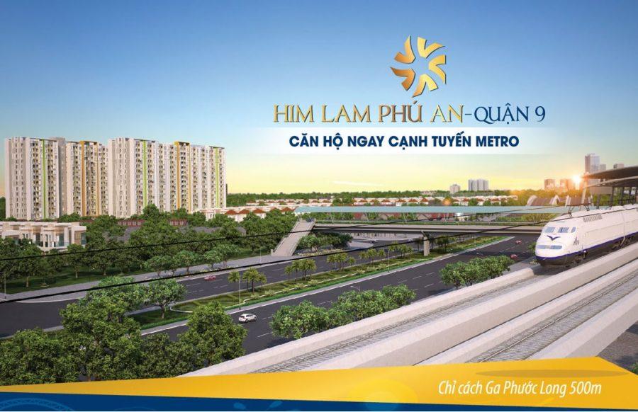 Him Lam Phú An quận 9 - Căn hộ ngay cạnh tuyến metro