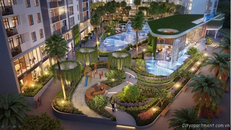 Thiết kế hiện đại với không gian xanh bao trùm tại Kingdom 101 Tô Hiến Thành.