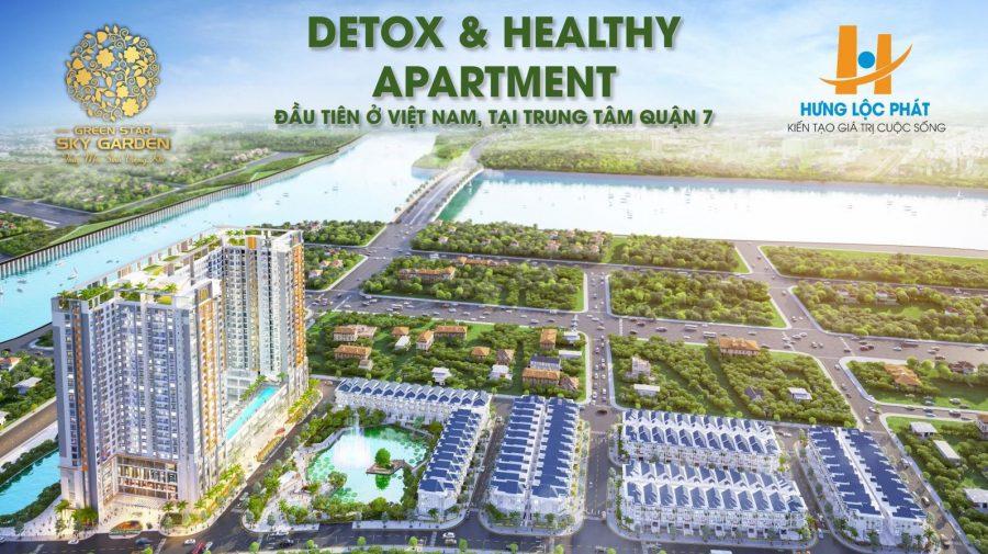 Phối cảnh 3D toàn dự án Green Star Hưng Phát Quận 7 – Cityapartment.com.vn