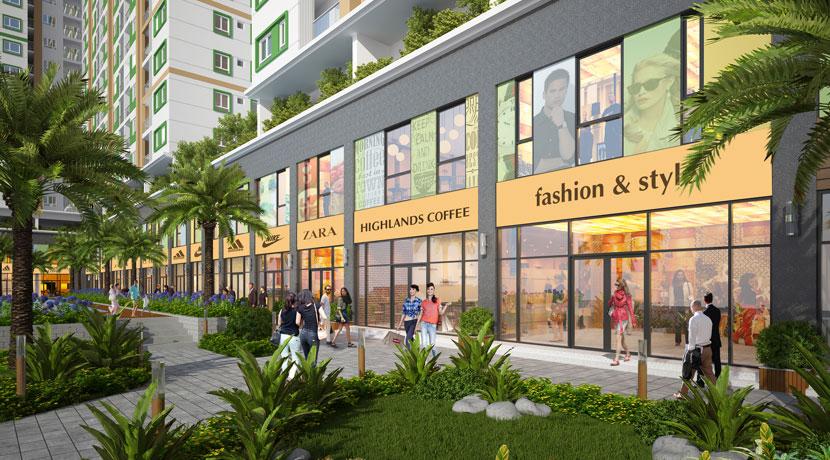 Vị trí các căn TTTM Shophouse Green Star Hưng Phát 5 - Cityapartment.com.vn