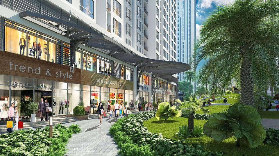 Phối cảnh Shophouse Green Star Hưng Phát 5 - Cityapartment.com.vn