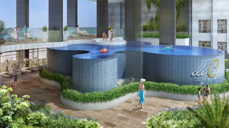Hình ảnh tổng thể dự án căn hộ De Capella quận 2.