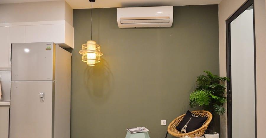 Thiết kế không vách ngăn giúp tiết kiệm sử dụng năng lượng.