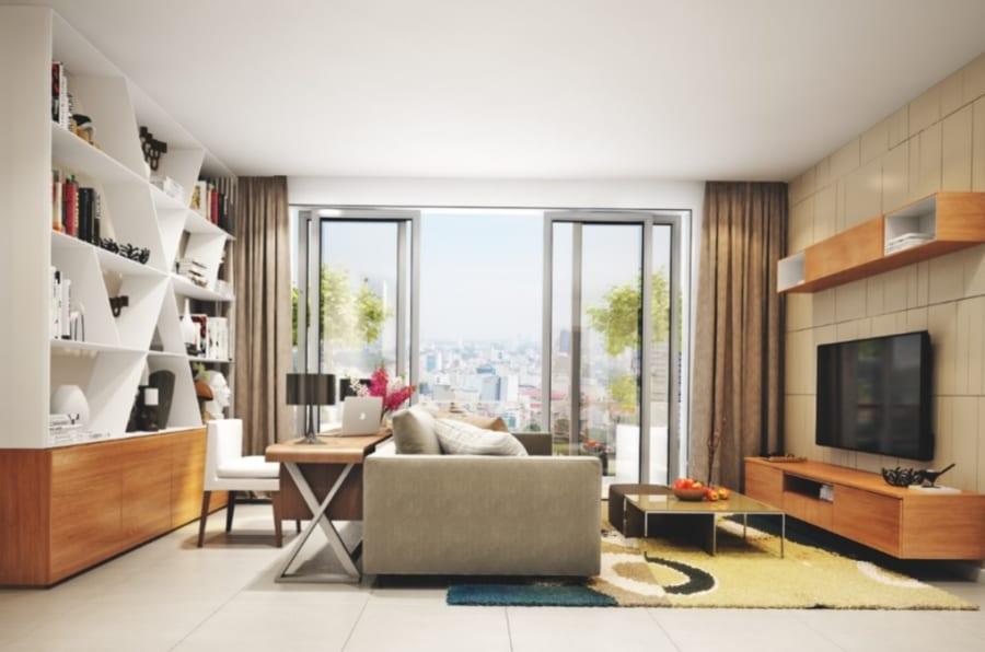 Nhà mẫu căn hộ De Capella quận 2 ảnh 3