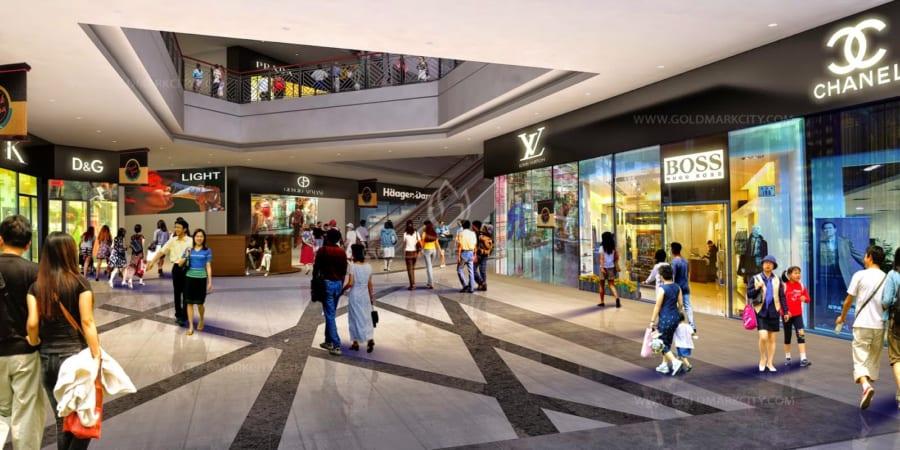 Khu trung tâm thương mại De Capella quận 2