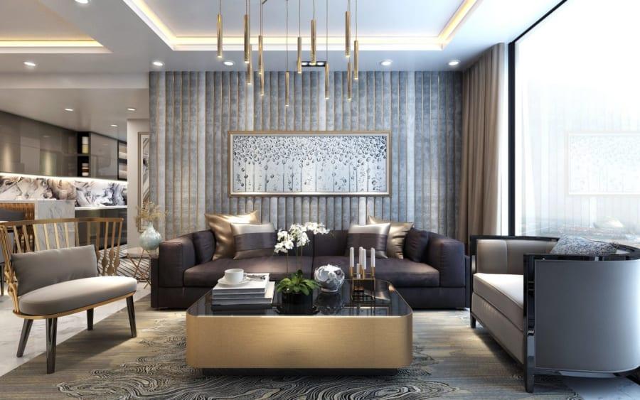 Thiết kế nội thất căn hộ Sunshine City Sài Gòn cực sang trọng - Ảnh 3