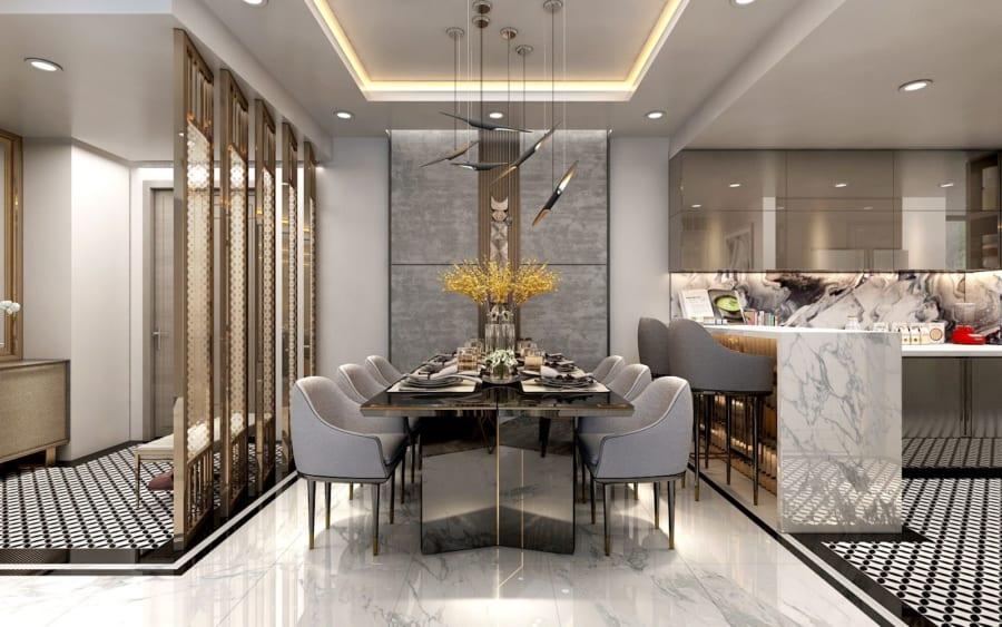 Thiết kế nội thất căn hộ Sunshine City Sài Gòn cực sang trọng - Ảnh 2