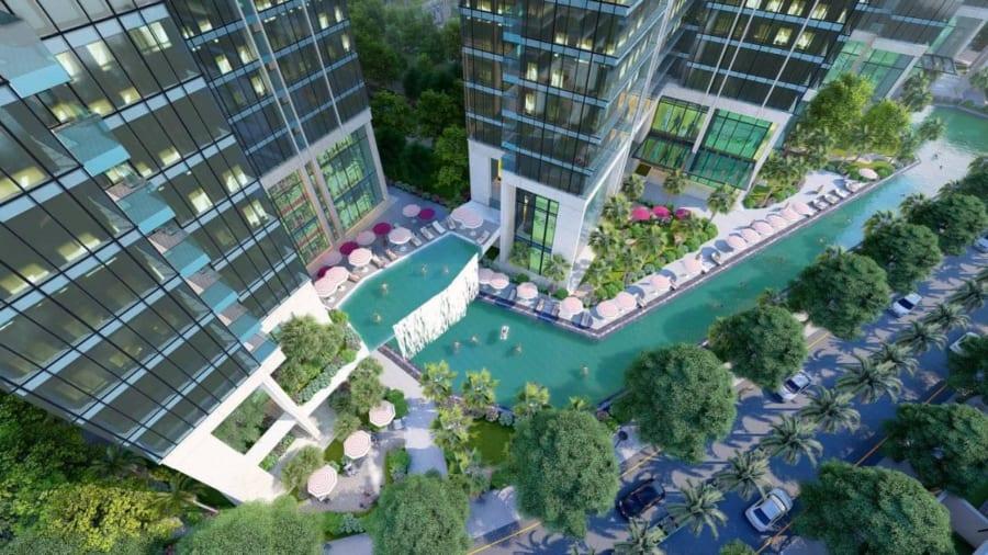 Tiện ích nội khu dự án Sunshine City Sài Gòn Quận 7