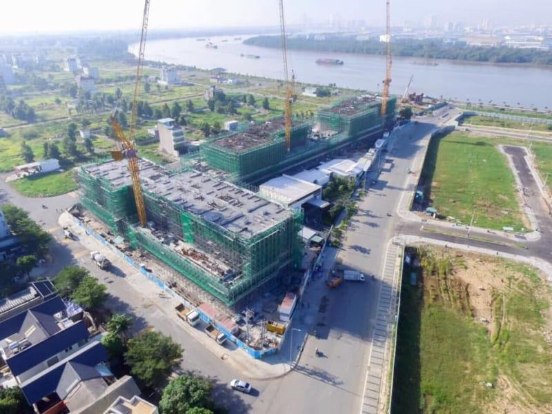 One Verandah cũng là dự án view sông cuối cùng được cấp phép tại Thạnh Mỹ Lợi