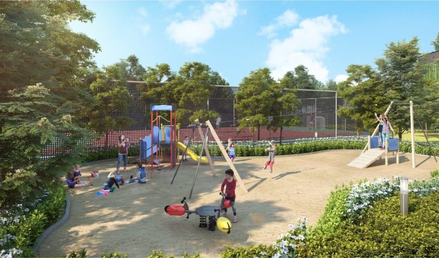 Vườn sân chơi trẻ em Palm Garden Quận 2