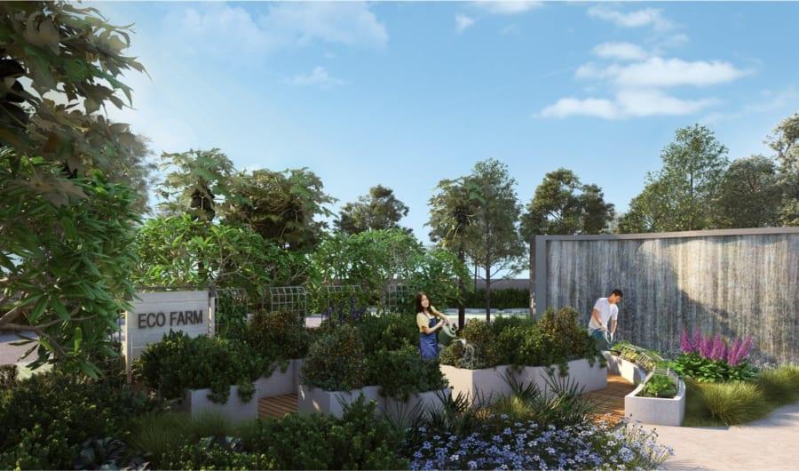 Tiện ích nội khu dự án Palm Garden Quận 2