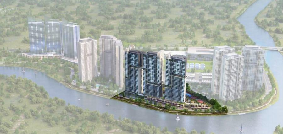 Phối cảnh dự án căn hộ Raemian Đông Thuận Quận 12