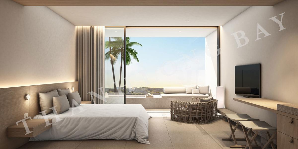 Phòng ngủ căn hộ 1PN Sky Garden dự án Thanh Long Bay - ảnh 2