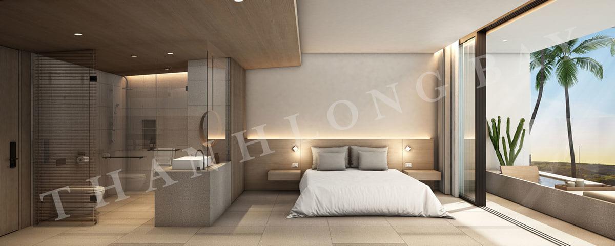 Phòng ngủ căn hộ 1PN Sky Garden dự án Thanh Long Bay - ảnh 3