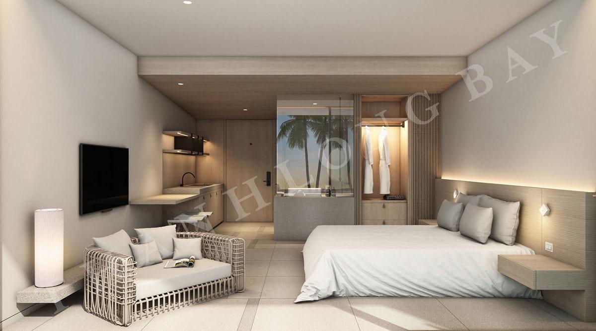 Phòng ngủ căn hộ 1PN Sky Garden dự án Thanh Long Bay - ảnh 1
