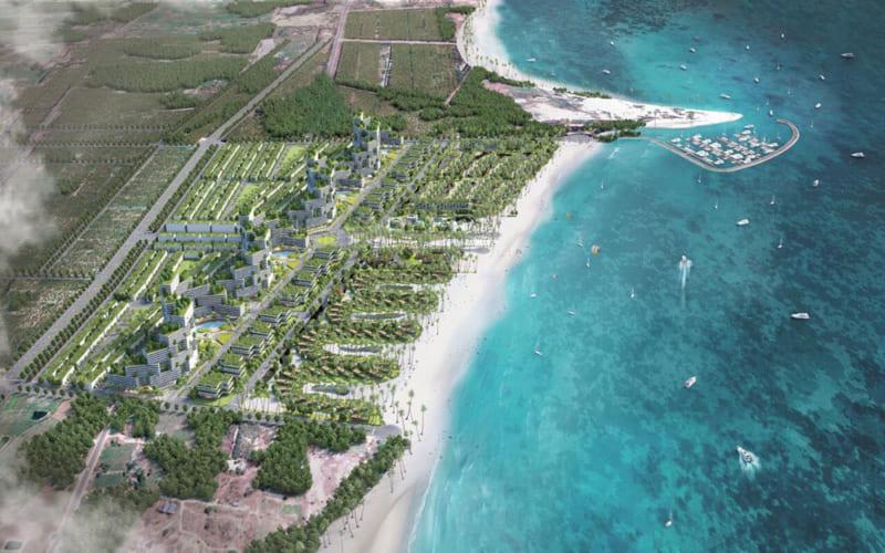 Phối cảnh tổng thể dự án Thanh Long Bay Phan Thiết