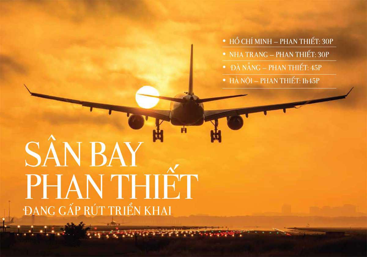 Sân bay Phan Thiết chuẩn bị triển khai