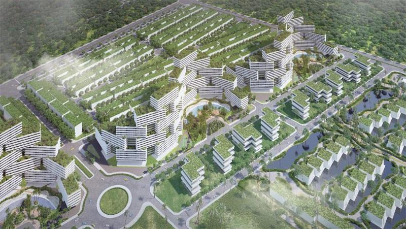 Phối cảnh nhà phố dự án Thanh Long Bay Phan Thiết