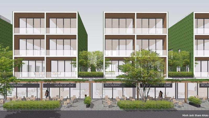 Thiết kế shophouse Thanh Long Bay