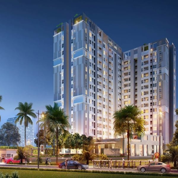 Phối cảnh căn hộ Saigon Asiana Quận 6