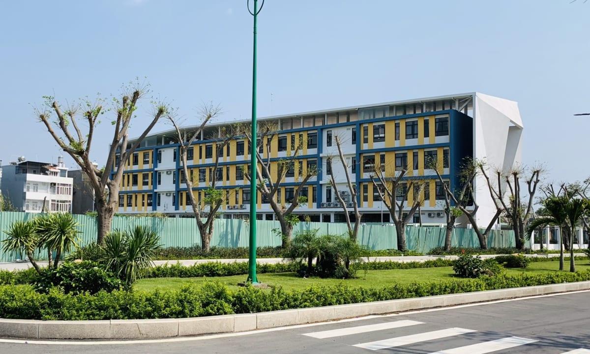 Trường tiểu học kim đồng đã đi vào hoạt động từ năm 2018.