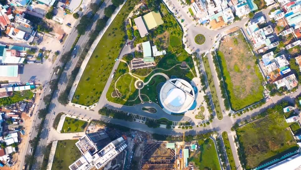 Đường nội bộ khuôn viên dự án Eco Green Sài Gòn