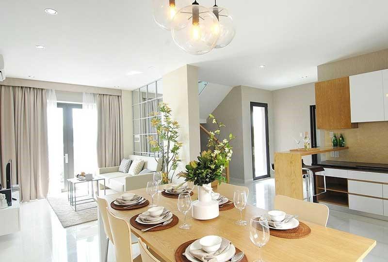 Thiết kế căn hộ mẫu tại dự án Lovera Vista Khang Điền.