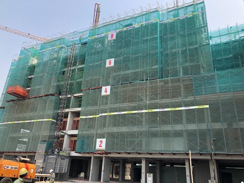 Tiến độ dự án Lovera Vista thi công tầng 10 Block E