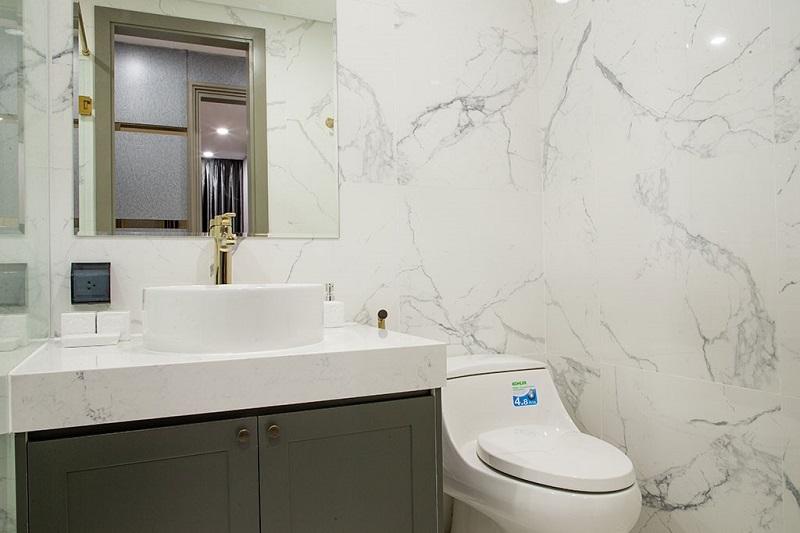 Hình ảnh nhà vệ sinh căn hộ mẫu Sunshine City Saigon