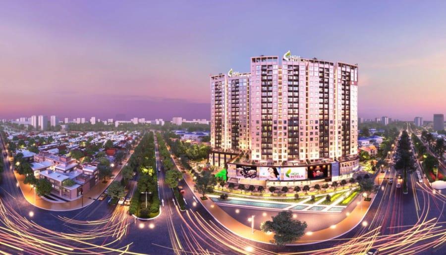 Phối cảnh dự án High Intela Võ Văn Kiệt Quận 8