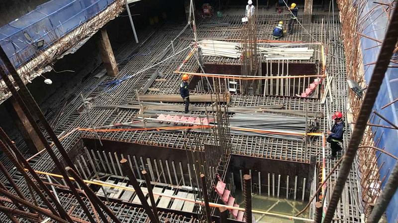 Tiến độ dự án Lancaster Lincoln vào hồi tháng 9/2018.