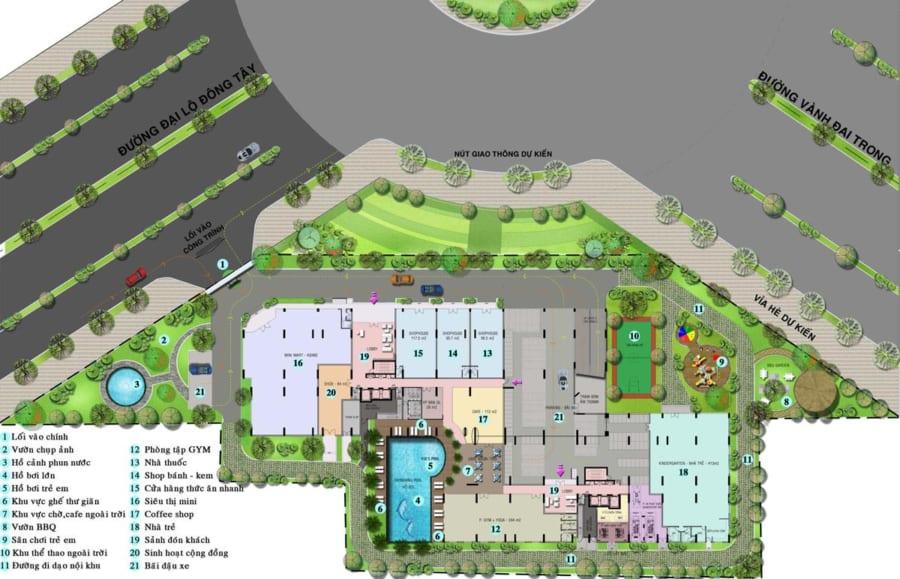Tiện ích nội khu dự án chung cư High Intela Q8