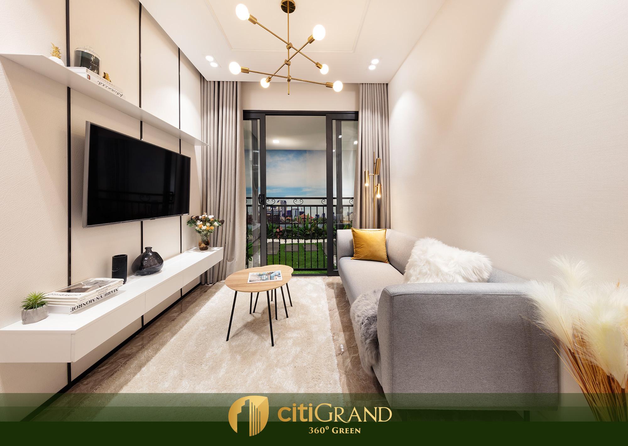 Hình ảnh căn hộ mẫu Citi Grand Kiến Á ảnh 3