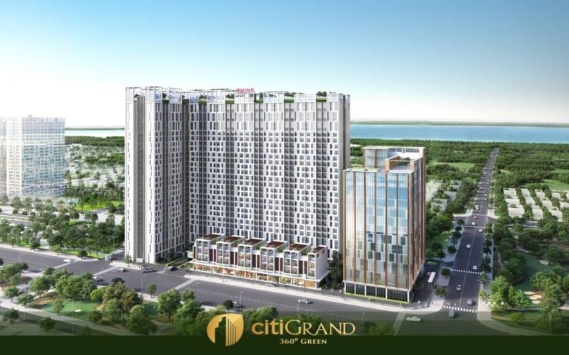 Phối cảnh căn hộ Citi Grand Kiến Á Quận 2