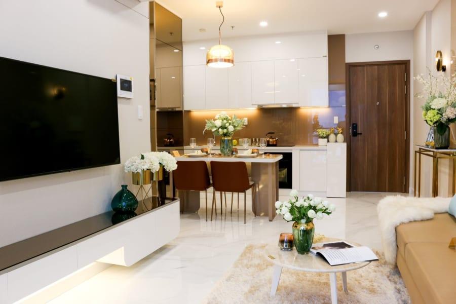 Hình ảnh nhà mẫu căn hộ D'Lusso Emerald Nguyễn Thị Định Quận 2 - ảnh 16