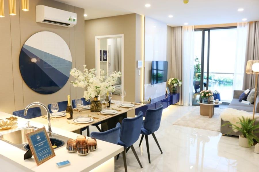 Hình ảnh nhà mẫu căn hộ D'Lusso Emerald Nguyễn Thị Định Quận 2 - ảnh 7