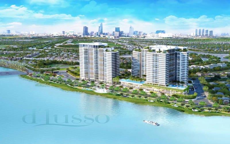 Phối cảnh tổng thể dự án D'Lusso Emerald