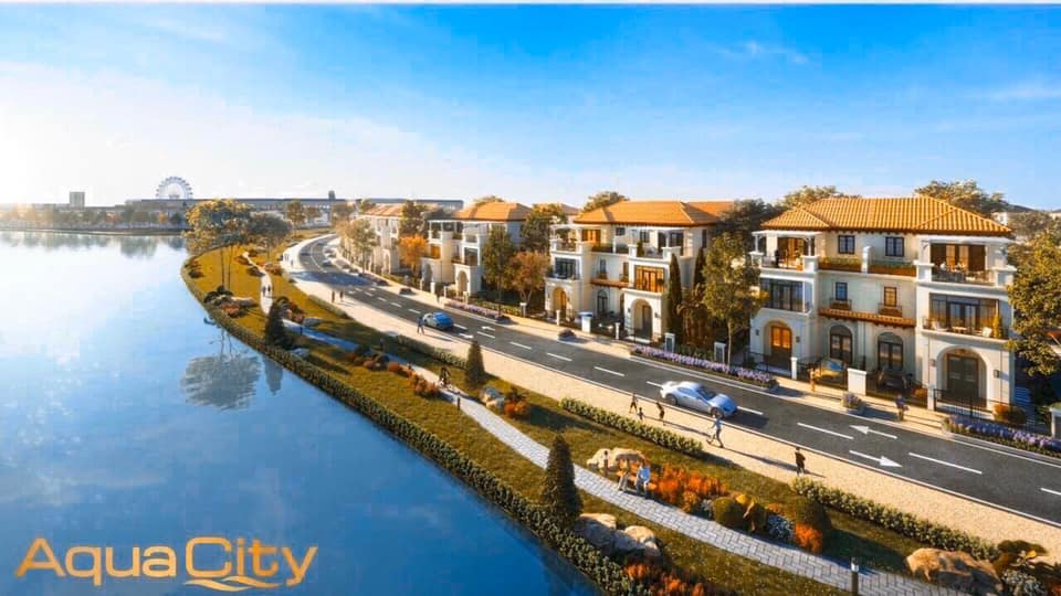 Nhà phố Aqua City Novaland phân khu The Valencia