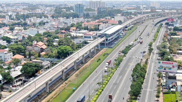Tiến độ tuyến metro số 1 Tp.HCM đoạn xa lộ Mai Chí Thọ Quận 2