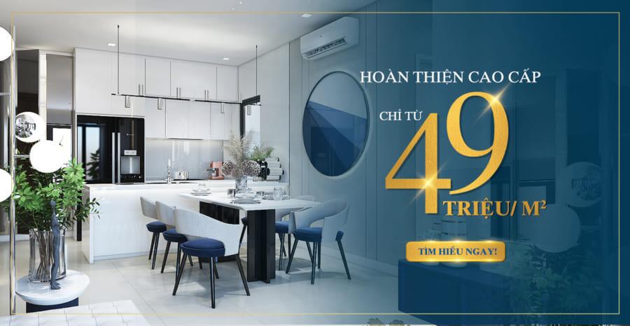 Dự án căn hộ Precia giá bán chỉ từ 49triệu/m2